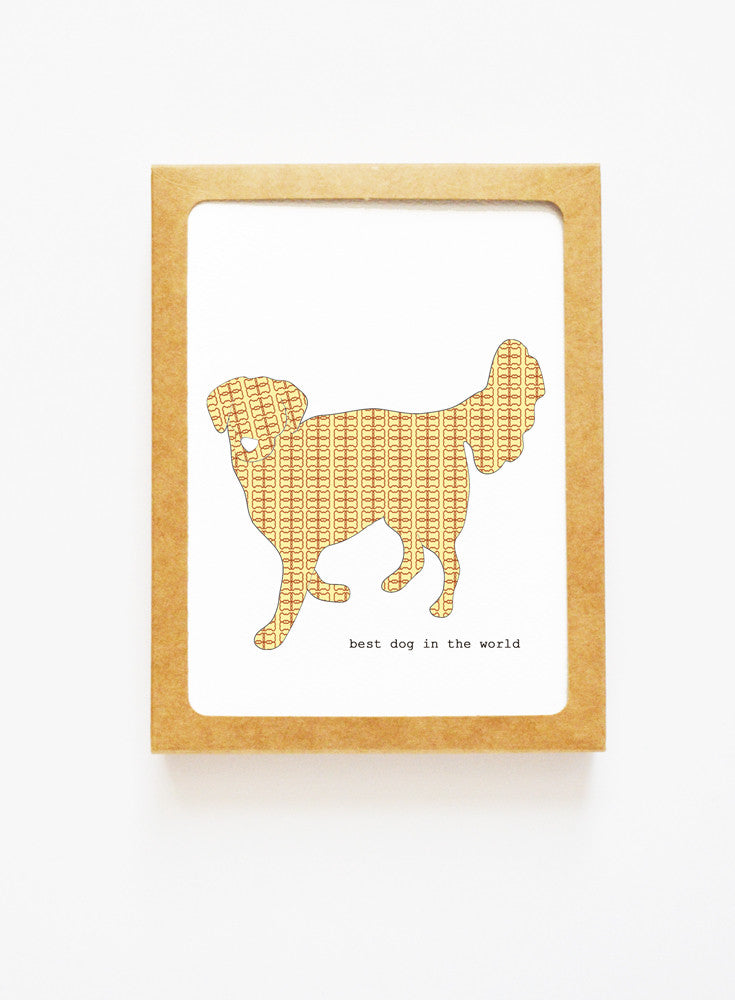 Golden Retriever Boxed Notes
