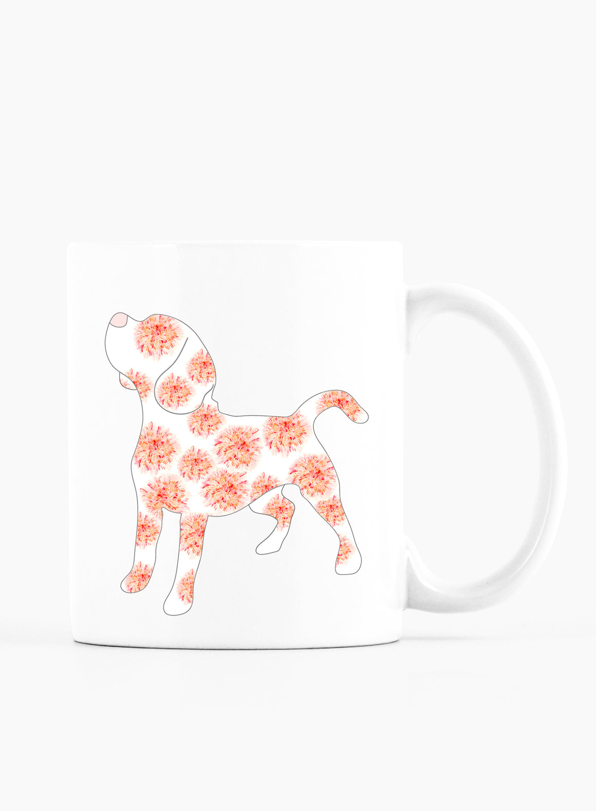 January Birth Flower Mug