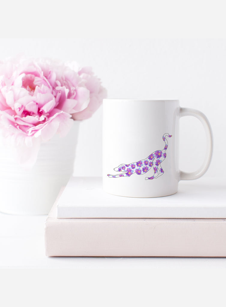 July Birth Flower Mug