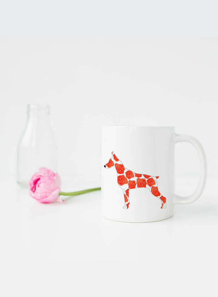 June Birth Flower Mug