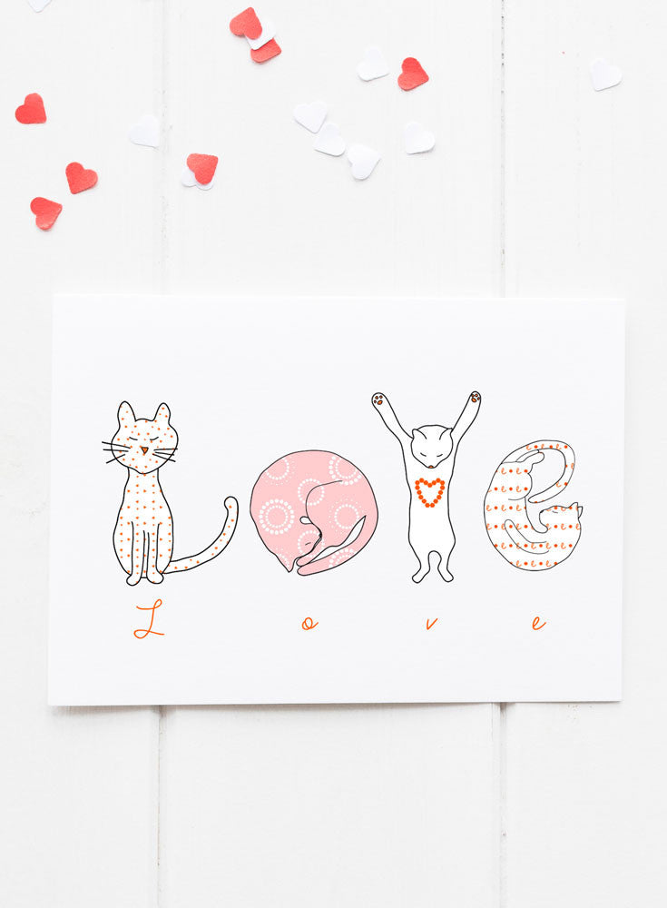 Cat LOVE Letters