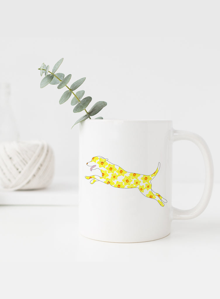 March Birth Flower Mug