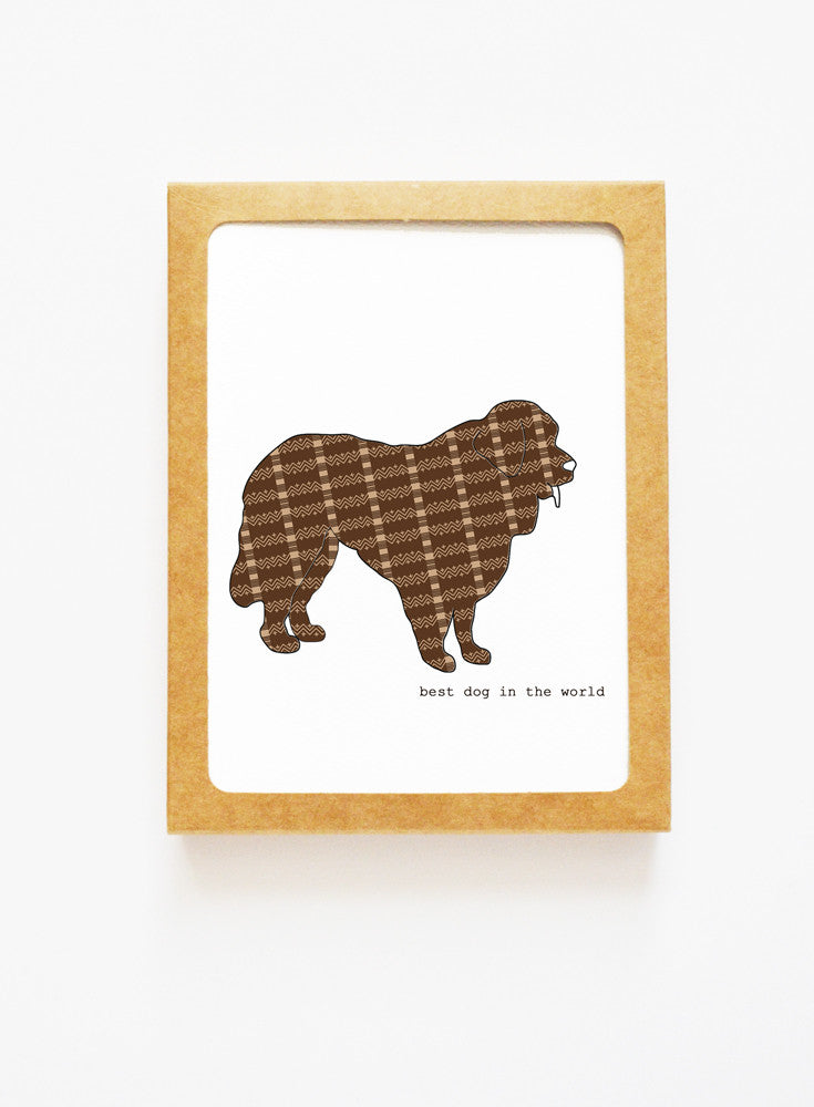 Newfoundland Dog Boxed Notes