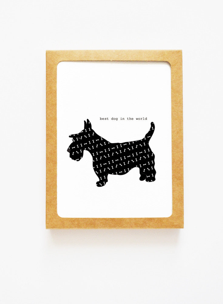 Scottish Terrier Boxed Notes