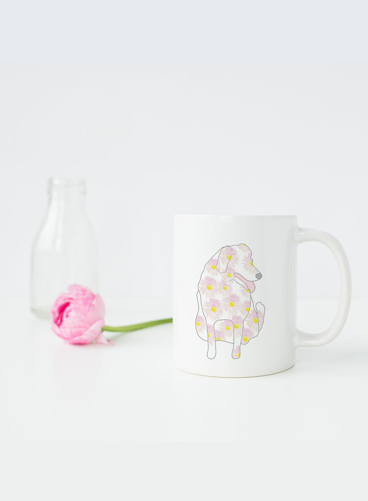 September Birth Flower Mug