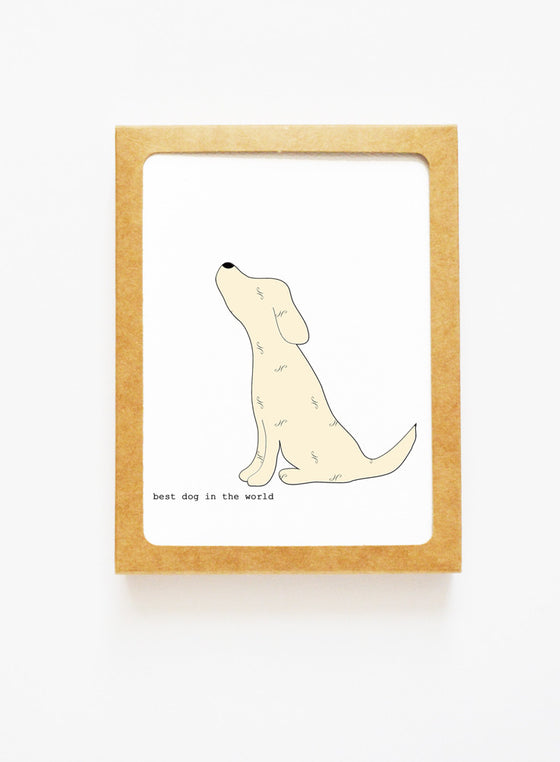 Yellow Labrador Retriever Boxed Notes