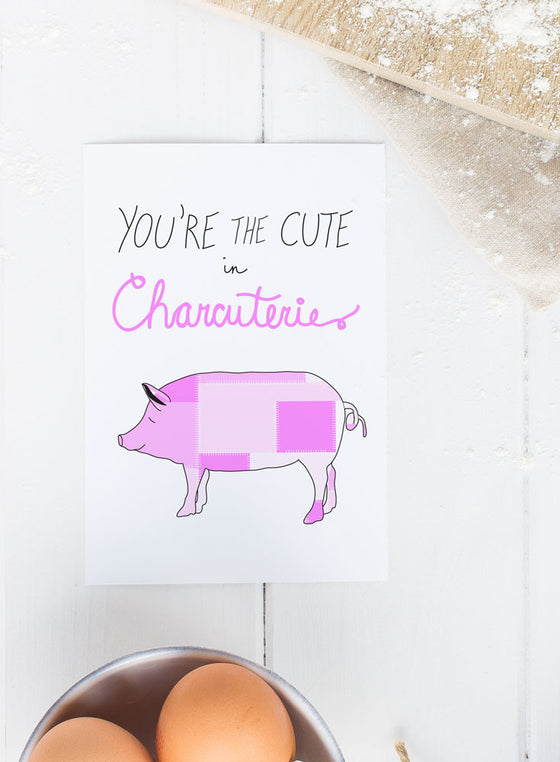 Cute in Charcuterie Greeting Card