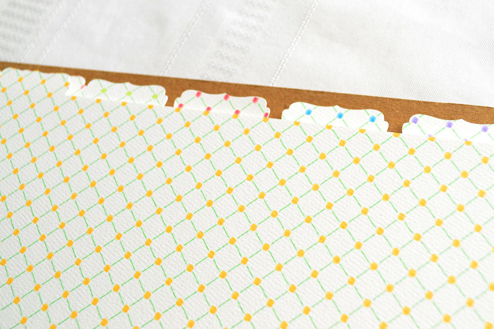 Recipe Binder Tabs in Trellis Design