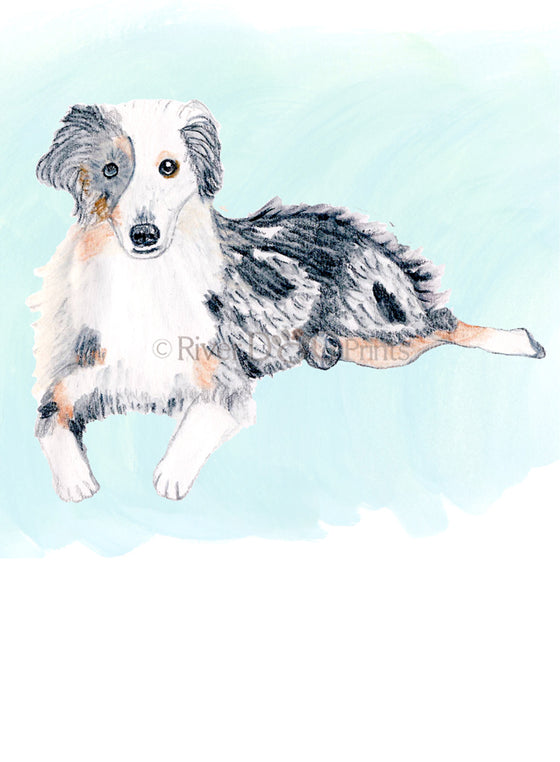 Custom Pet Portrait in Watercolor