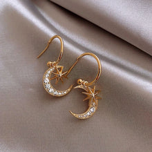 Load image into Gallery viewer, Star & Moon Earrings