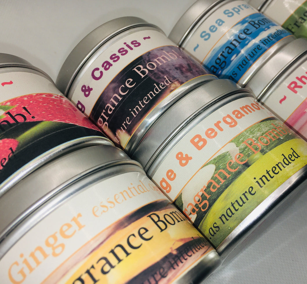 Fragrance Bombs in a Tin