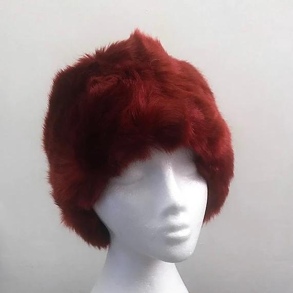 Long Faux Fur Hat
