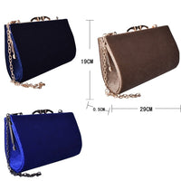Lilou Lizard Velvet Hard case Clutch Bag