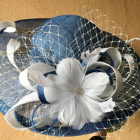 Spiral and flower with netting Hatinator