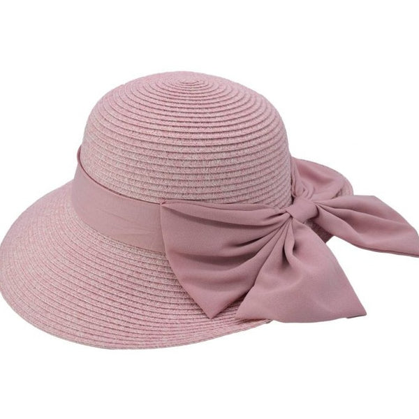 Women's Summer Hat With Bow