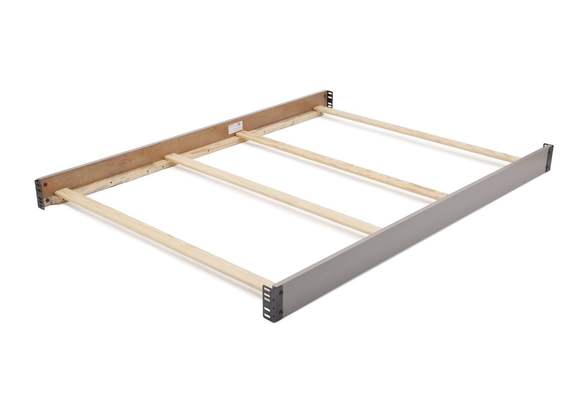 Simmons Kids Grey (026) Wood Bed Rails (0020) b1b
