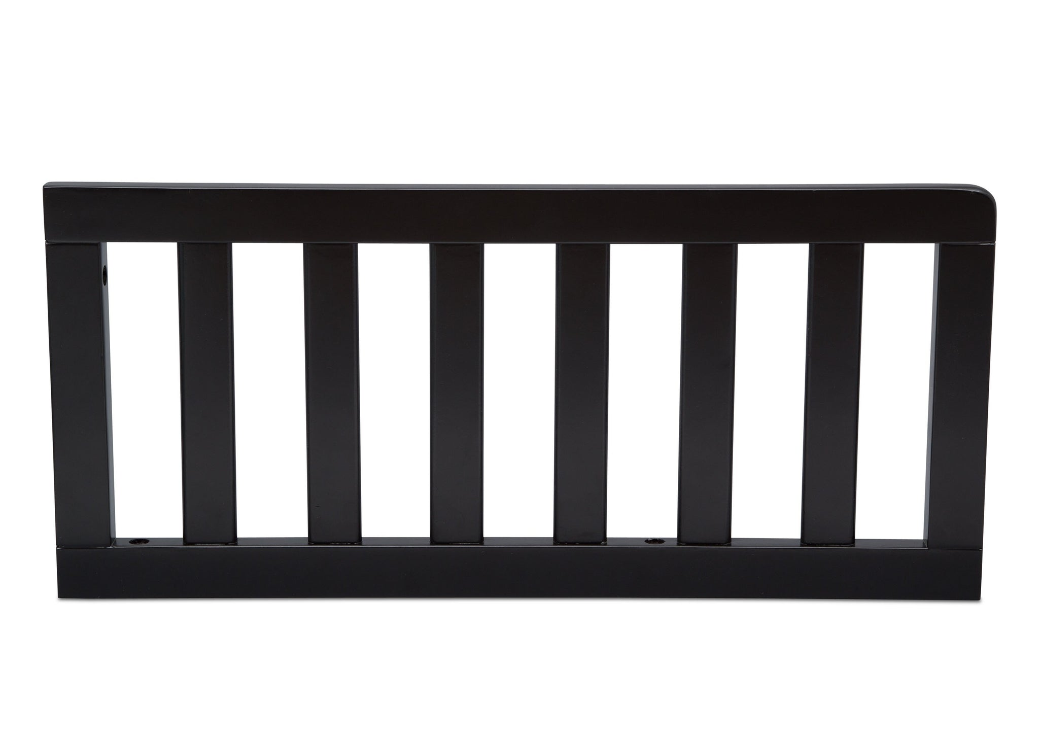 Delta Children Ebony (0011) Toddler Guardrail (0080), Front View a1a