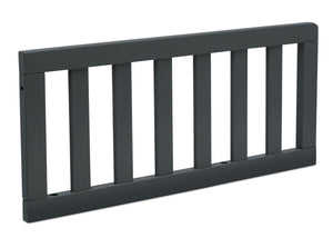 Delta Children Charcoal (029) Toddler Guardrail (0080), Angled View e2e