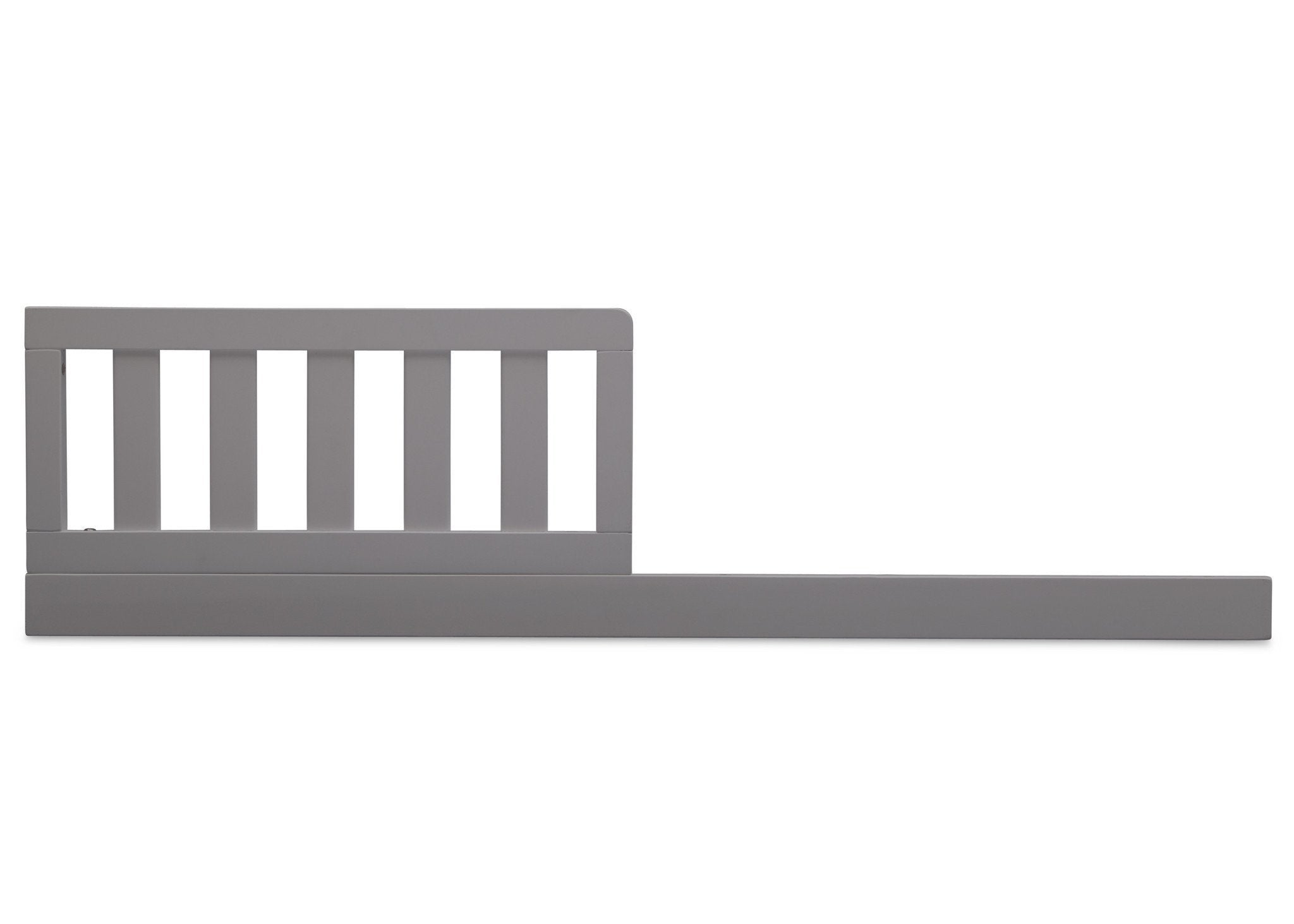 Delta Children Grey (026) Daybed Rail & Toddler Guardrail Kit, Front View a2a