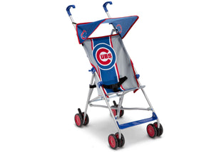 Delta Children Cubs Style 1 (1232) MLB Umbrella Stroller, Right Silo View