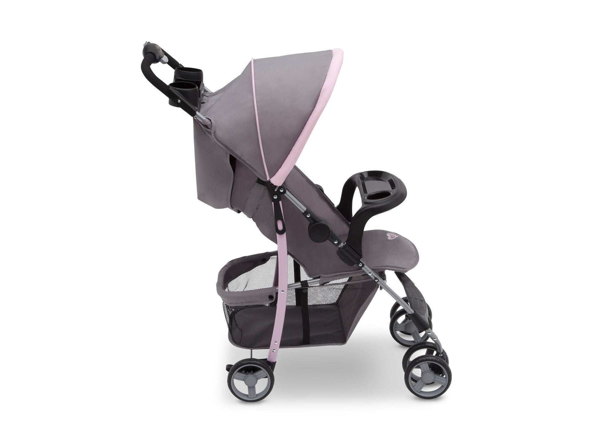Delta Children Katie (2256) CX Rider Stroller, Side View d3d