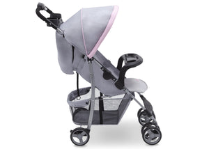 Delta Children Emily (2274) CX Rider Flat-Fold Stroller, Side View c3c