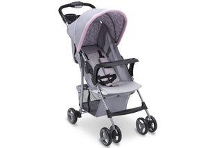 Delta Children Emily (2274) CX Rider Flat-Fold Stroller, Right View c1c