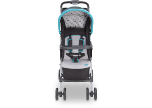 Delta Children Leafish (351) CX Rider Flat-Fold Stroller, Right Side View