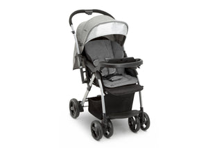 Jeep Unlimited Reversible Handle Stroller by Delta Children, Grey Tweed (2012), Full View