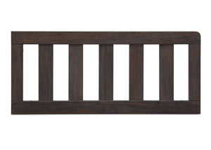 Simmons Kids Rustic Grey (084) Toddler Guardrail (180129), Front View a2a