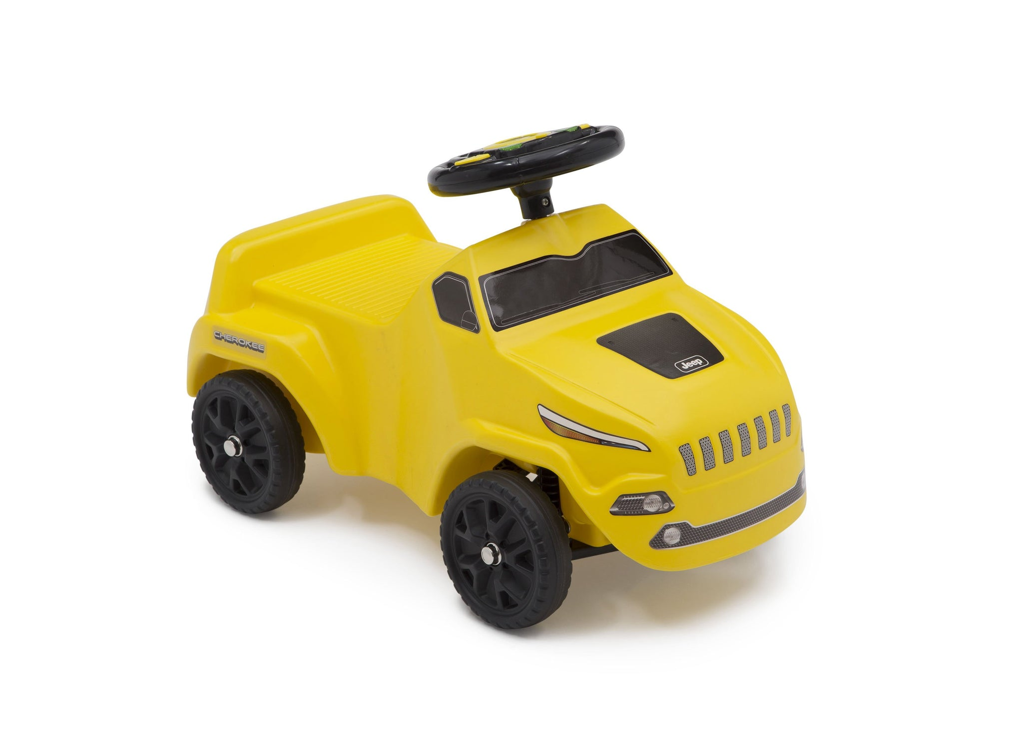 Jeep® Cherokee Ride-On Push Car Yellow (2314), Side View