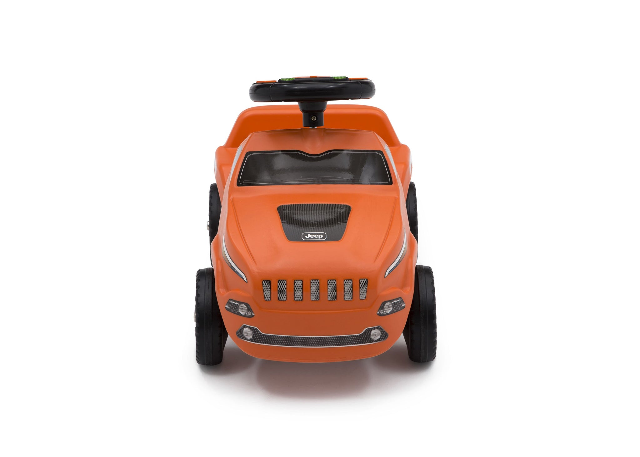 Jeep® Cherokee Ride-On Push Car Orange (865), Front View