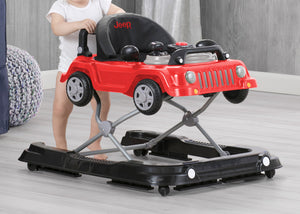 Jeep® Classic Wrangler 3-in-1 Grow With Me Walker, Anniversary Red (2312), Full View