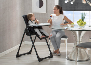 Jeep Classic Convertible High Chair (Midnight Black) - bundle