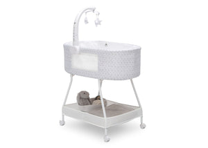 Delta Children Garden Path (2175) Sweet Slumber Bassinet, Right Silo View
