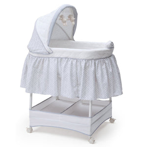 Delta Children Garden Gate (082) Gliding Bassinet Right Side View b1b