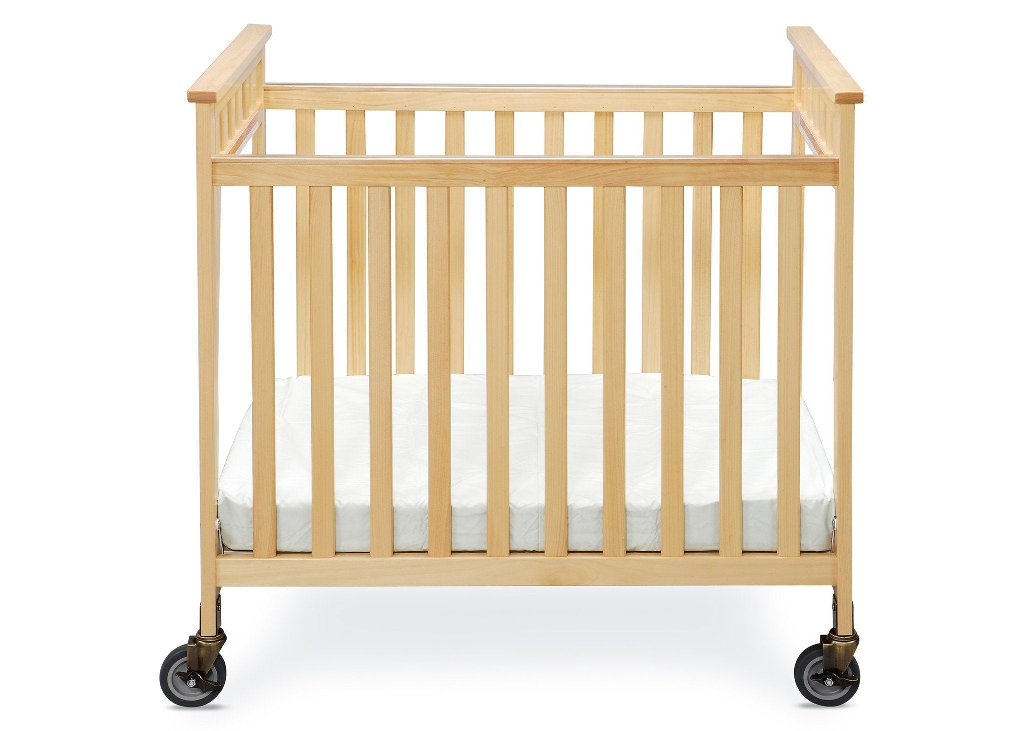 Simmons Kids Natural (260) Scottsdale Crib, Front View b1b