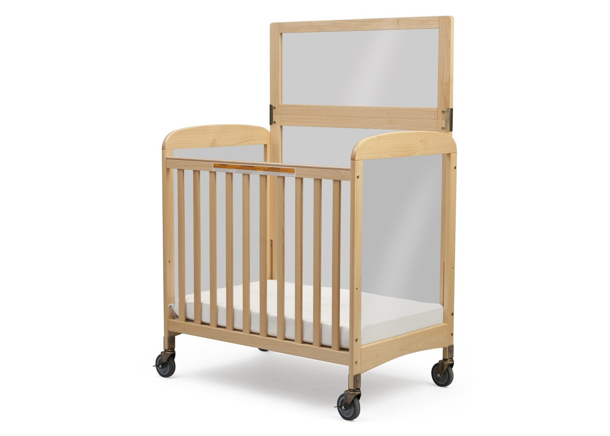 Simmons Kids Natural (260) Sweet Dreamer with Safe Barrier, Left Side View a2a
