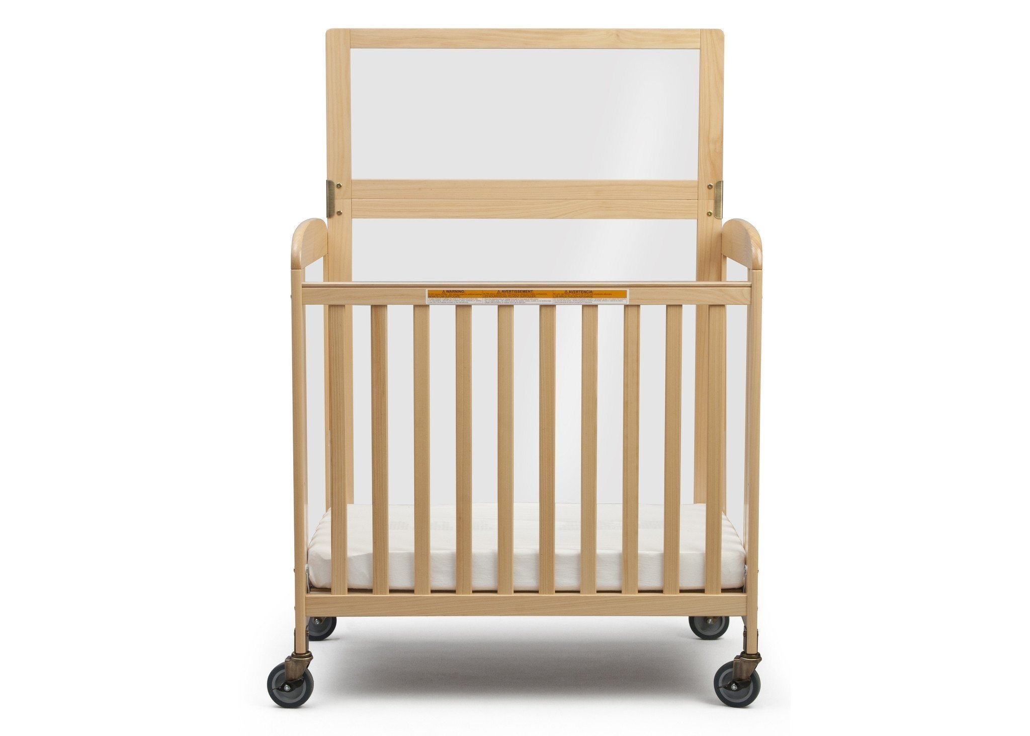 Simmons Kids Natural (260) Sweet Dreamer with Safe Barrier, Front View a1a