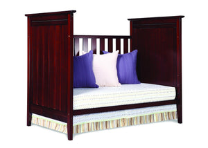Simmons Kids Black Cherry Espresso (607) Melody 3-in-1 Crib, Daybed Conversion d3d