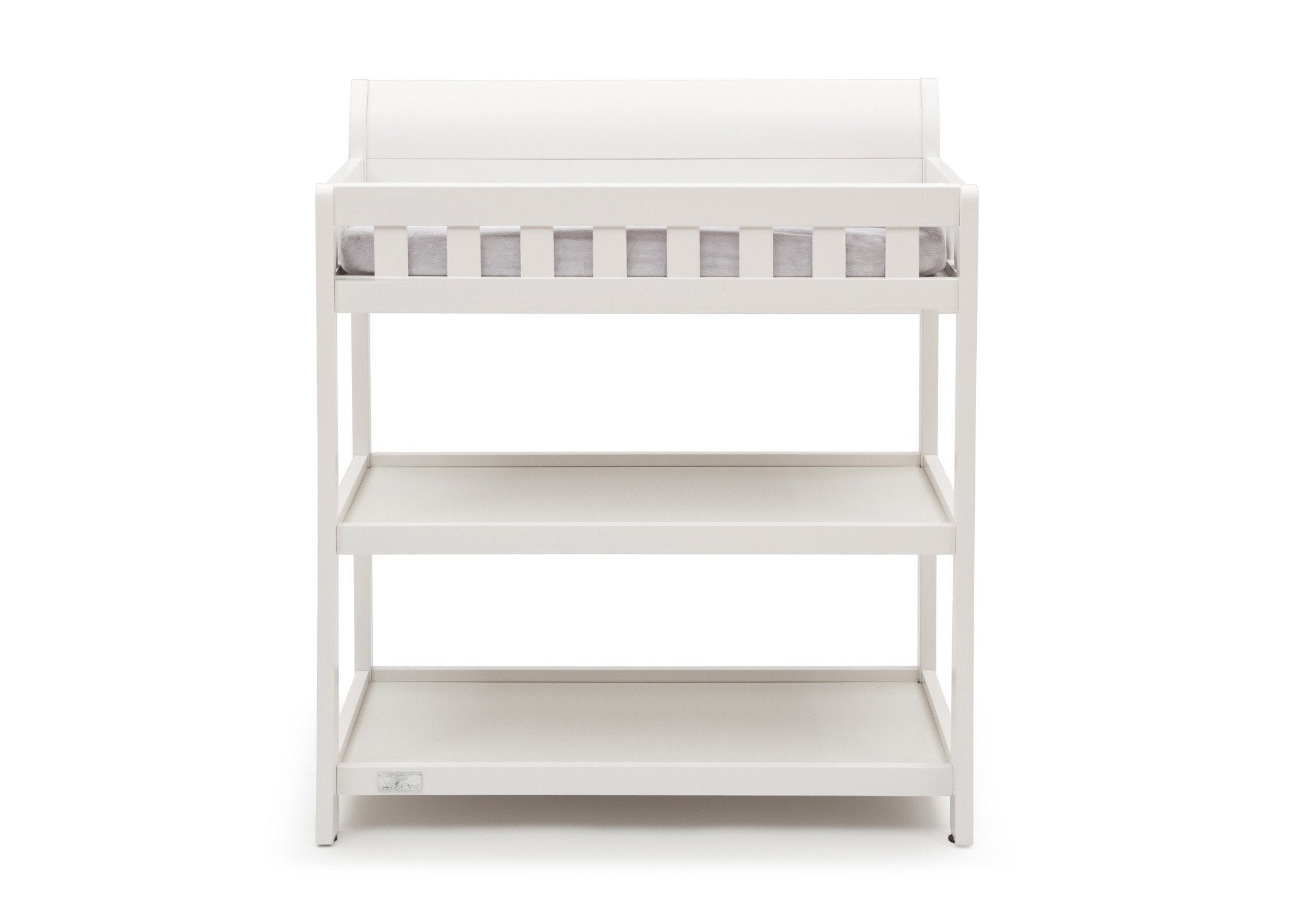 Simmons Kids White Ambiance (108) Madisson Changing Table Front View a3a