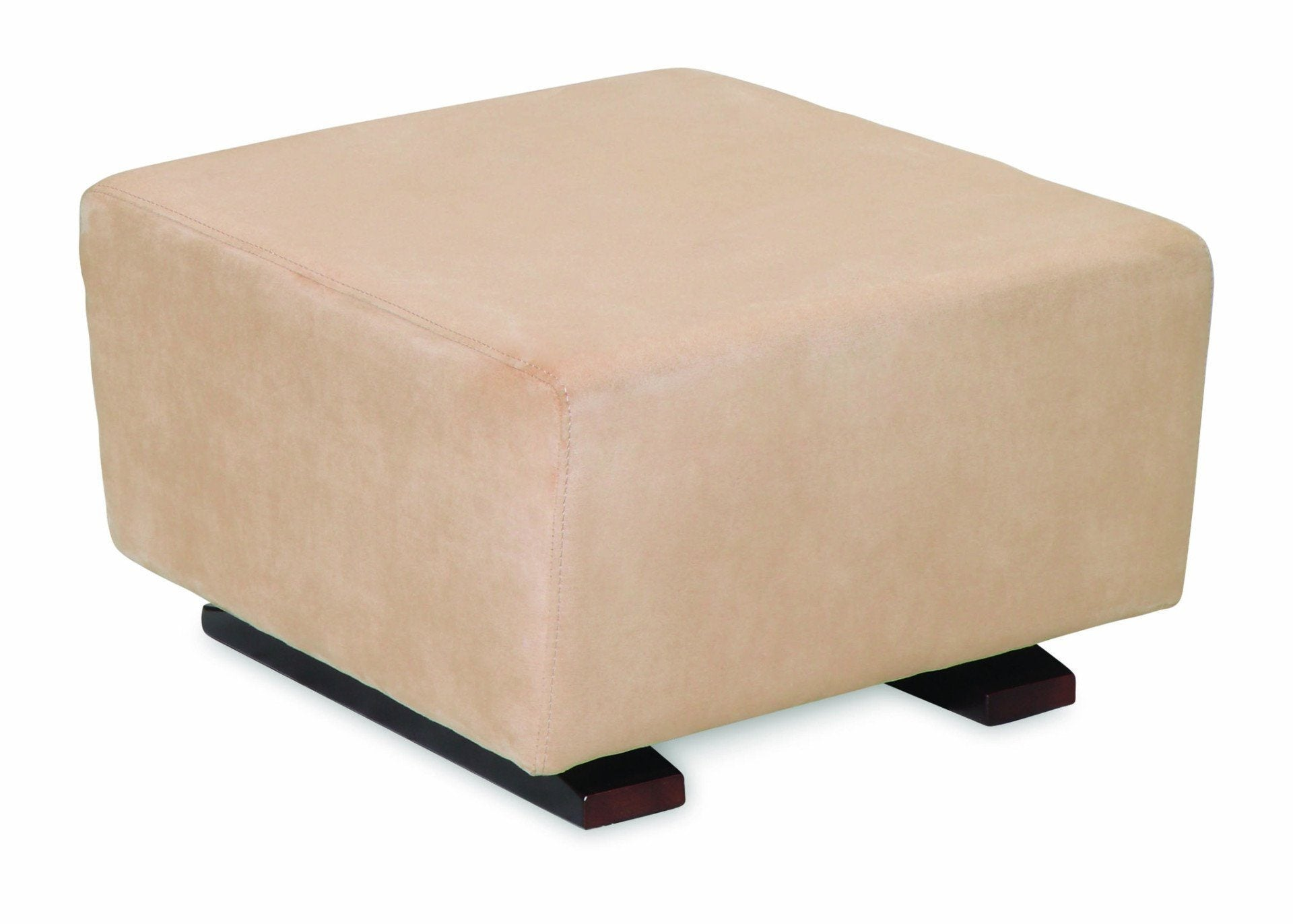 Simmons Kids Madisson Upholstered Ottoman, Right Side View a1a