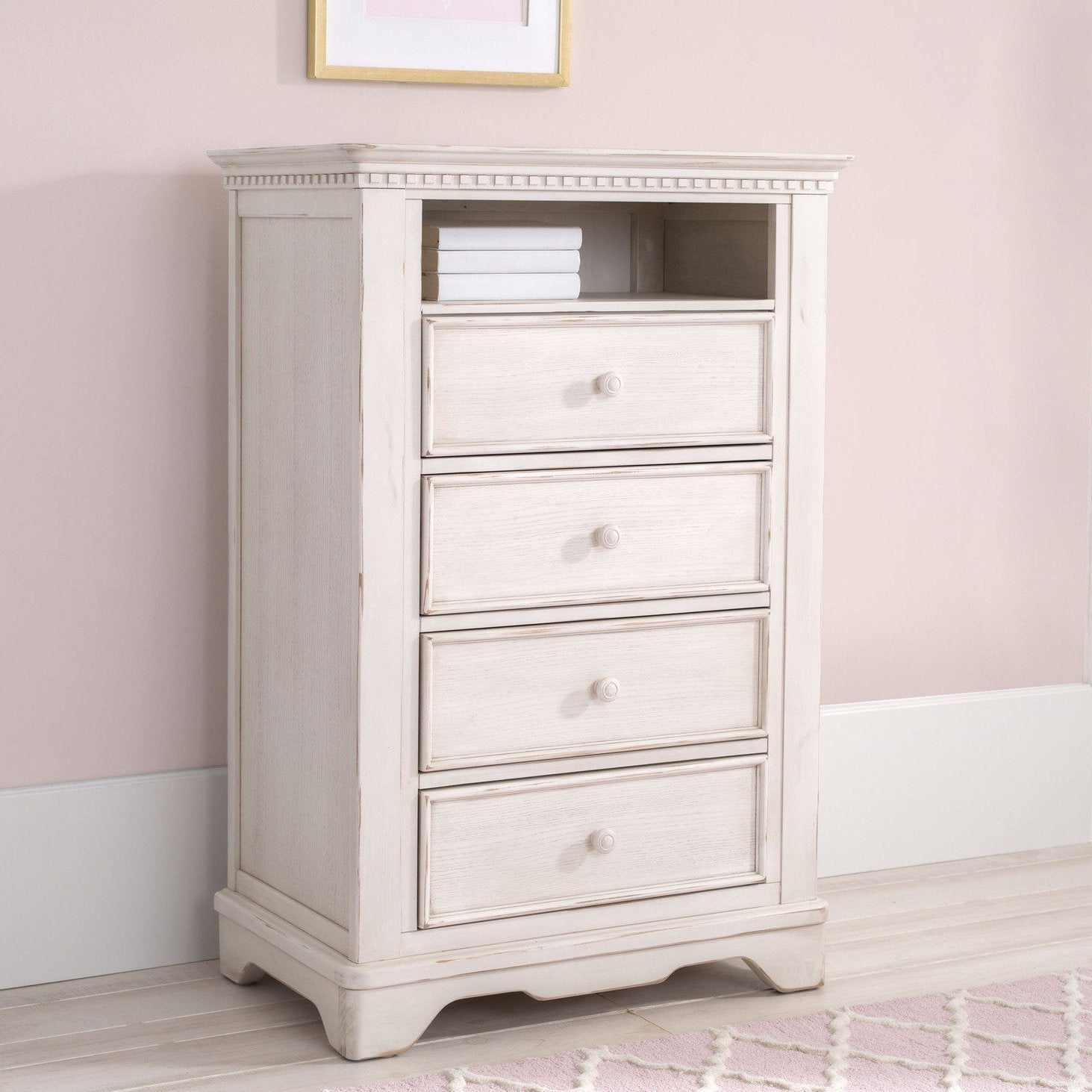 Tivoli 4 Drawer Chest with Cubby