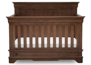 Simmons Kids Antique Chestnut (2100) Tivoli Crib 'N' More, Front View, a2a