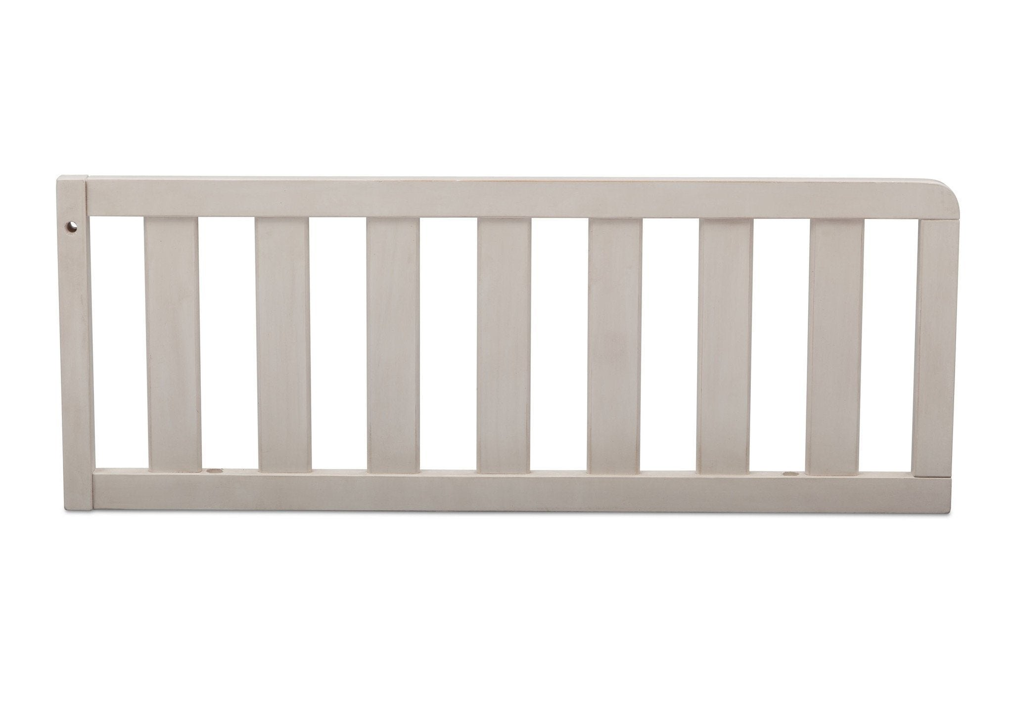 Simmons Kids Antique White (122) Toddler Guardrail, Front View b1b