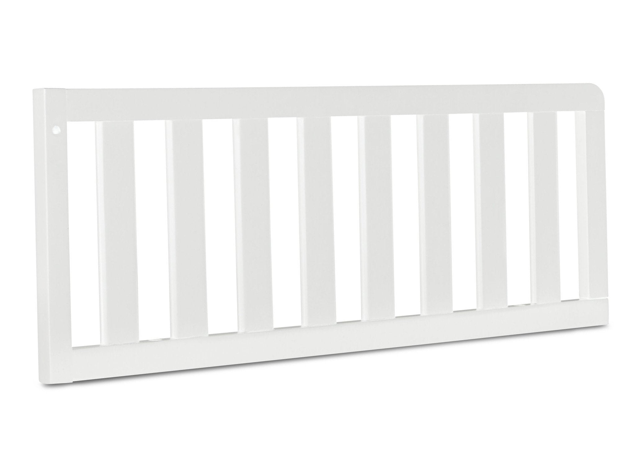 Simmons Kids Bianca (130) Toddler Guardrail, Angled View c2c