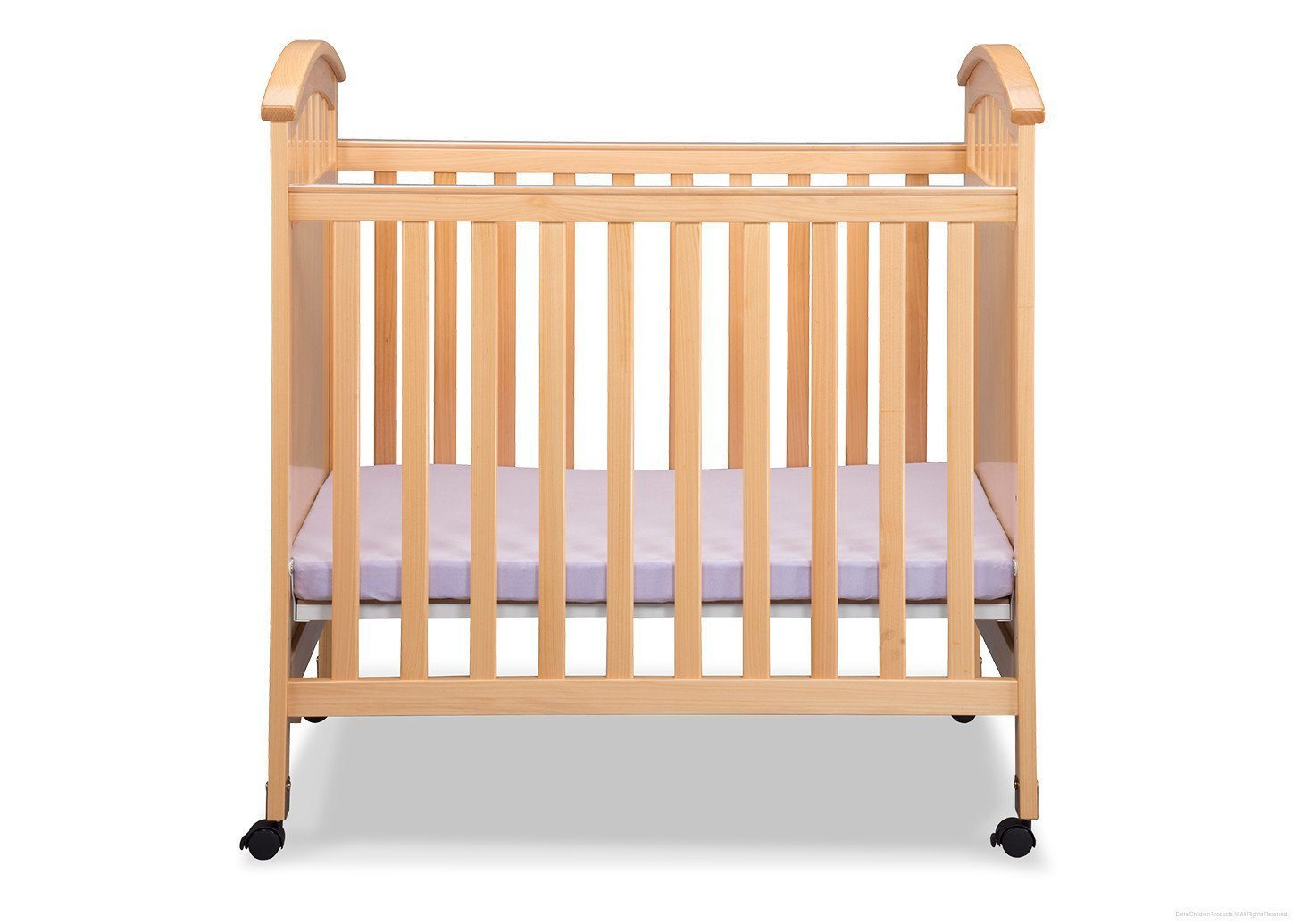 Delta Children Natural (260) Americana Cozy Crib Front View c2c