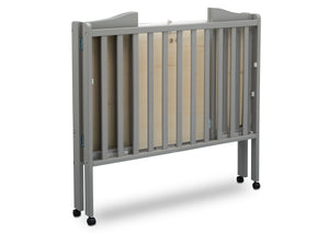 Delta Children Grey (026) Portable Crib, Folded d4d
