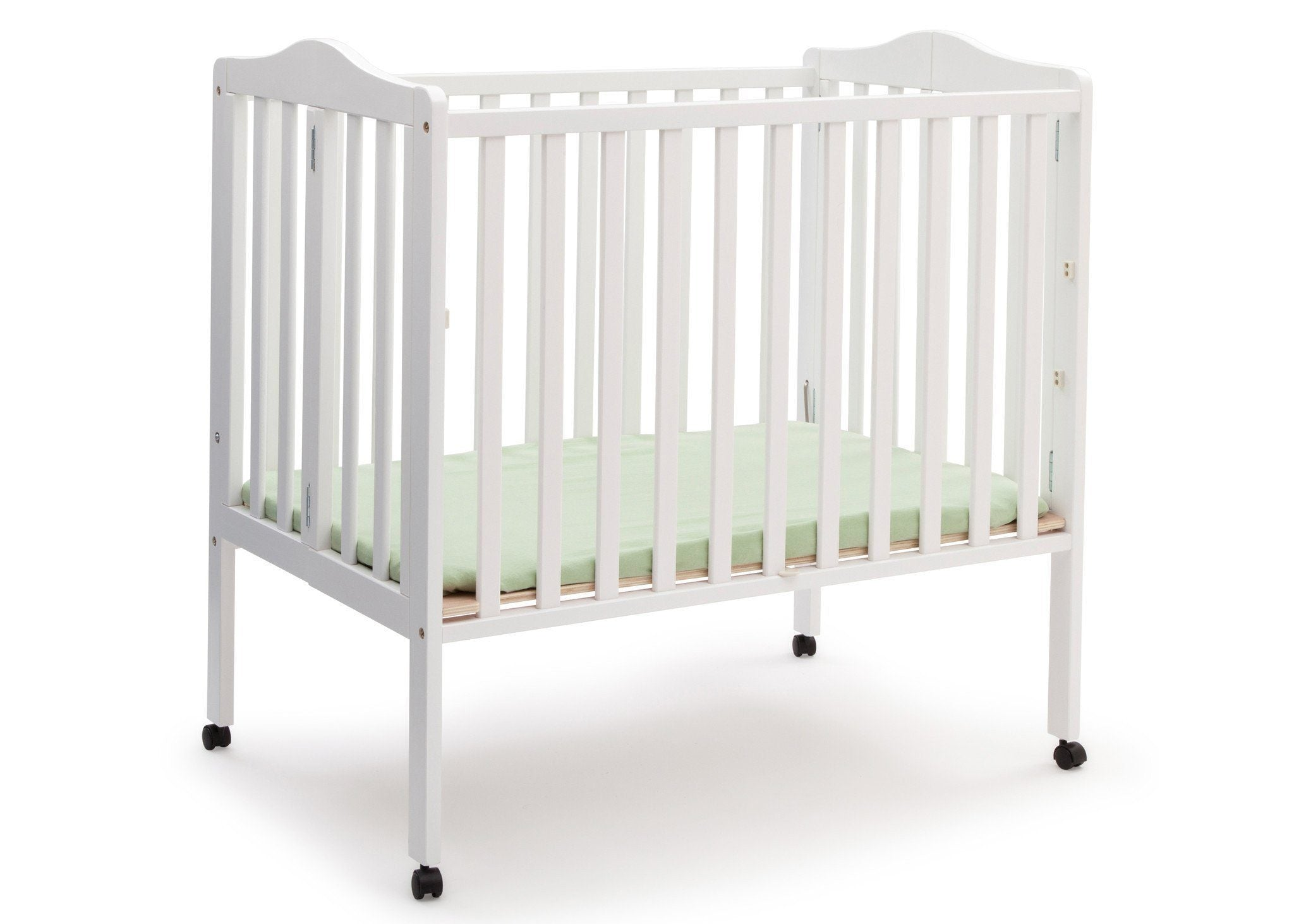 Delta Children White (100) Portable Crib, Option 1 a2a