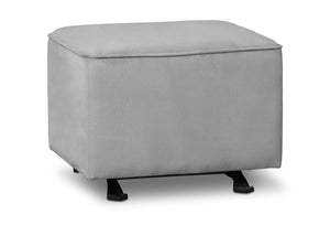 Delta Children Dove Grey (034) Nursery Gliding Ottoman (501220), Sideview, a3a